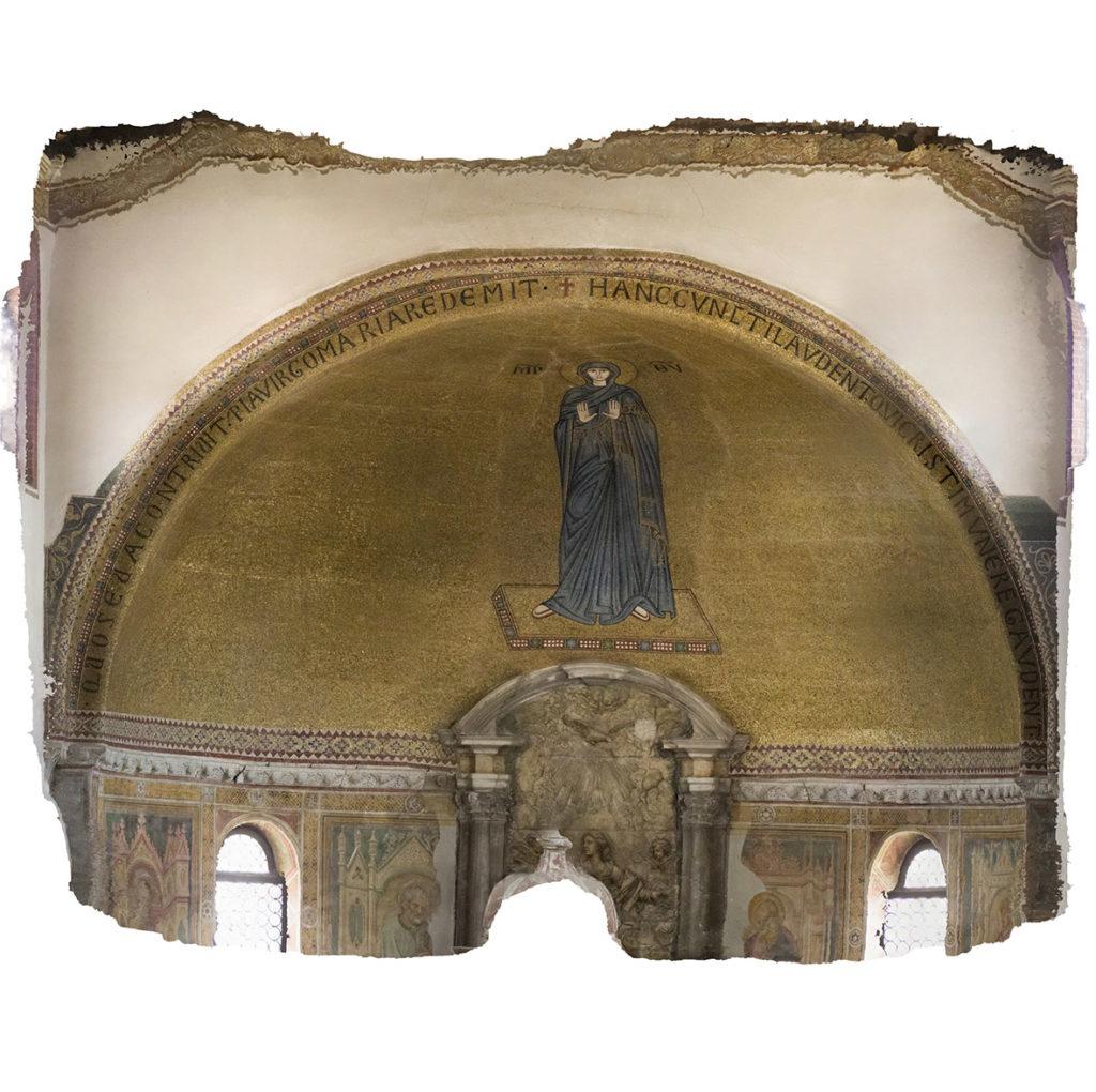 fotogrammetria su mosaico storico